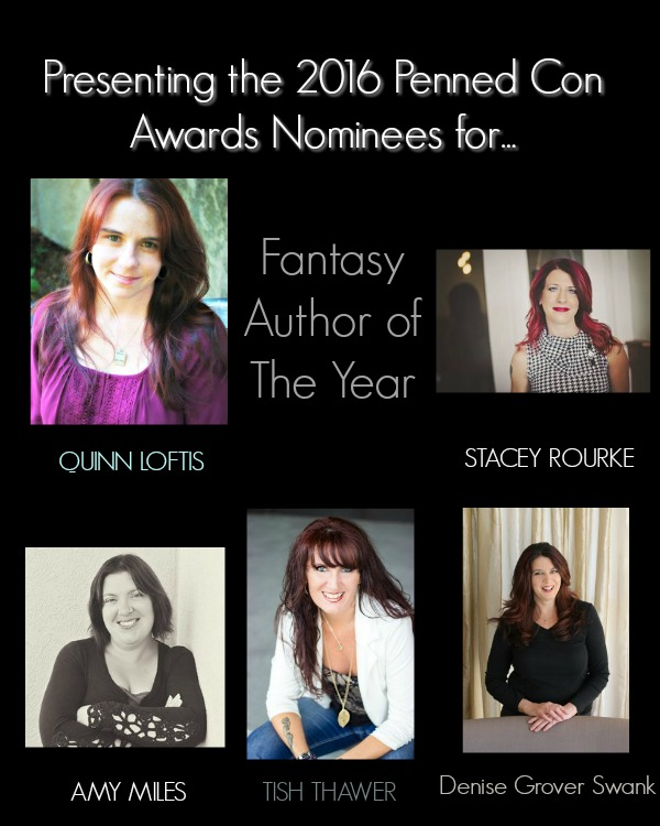 Fantasy Author of the Year